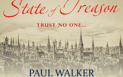 Paul Walker's 'A State of Treason' Elizabethan Spy Thriller #audiobook #CoffeePotBookClub