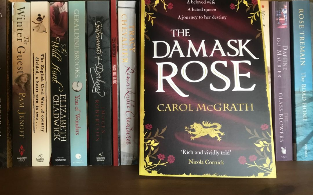 The Damask Rose by Carol McGrath #medieval #SheWolfQueens #Review
