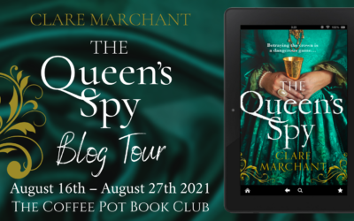 The Queen's Spy by Clare Marchant #BookReview #CoffeePotBookClub