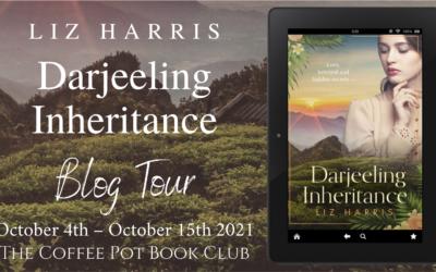Darjeeling Inheritance by Liz Harris #Review #CoffeePotBookClub