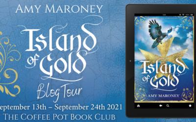 Island of Gold by Amy Maroney #CoffeePotBookClub #historicalfiction